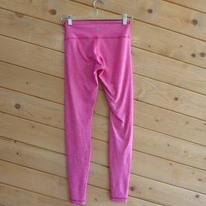 Lululemon Hot Pink Stretchy Pants Yoga Gym Skinny